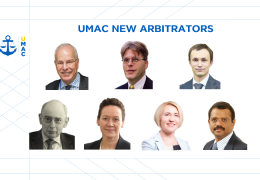 UMAC is Pleased to Announce New Recommended Arbitrators